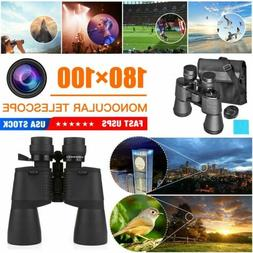 100×180 Compact Binoculars with Low Light Night Vision High