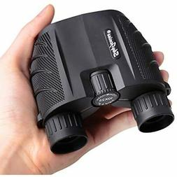 10x25 Compact Binoculars For Adults, High Powered Pocket Con