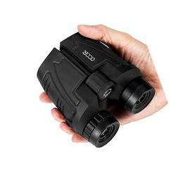 Occer 12x25 Compact Binoculars with Low Light Night Vision,