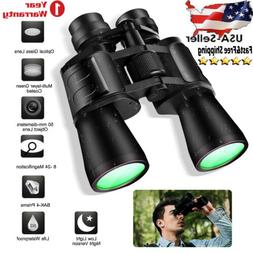 180x100 Zoom Day Low Night Vision Binoculars Hunting Concert
