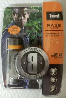 Bushnell Bear Grylls 8x 25mm Compact Roof Prism Waterproof/F