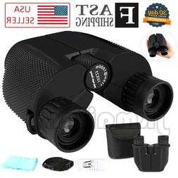 Binoculars for Adults/Kids Compact Folding Roof Prism 10x25