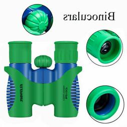 Compact Kids Binoculars Toy for Boys Girls with High-Resolut