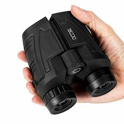 Occer 10x25 Compact Kids Binoculars With Low Light Night Vis