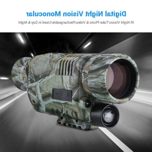 BOBLOV Infrared Vision Monocular with Record