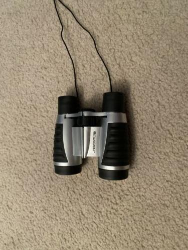 compact binoculars uv and case new great