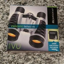 new uv coated binoculars with protective carrying