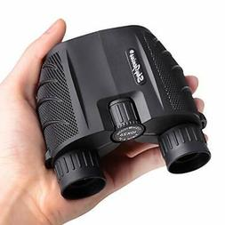 SkyGenius 10x25 Compact Binoculars for Adults, High Powered