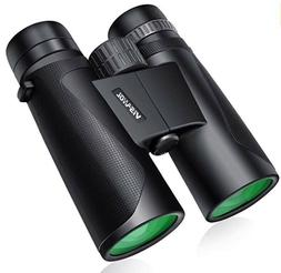 Visanol 12x42 Compact Binoculars with Low Light Night Vision